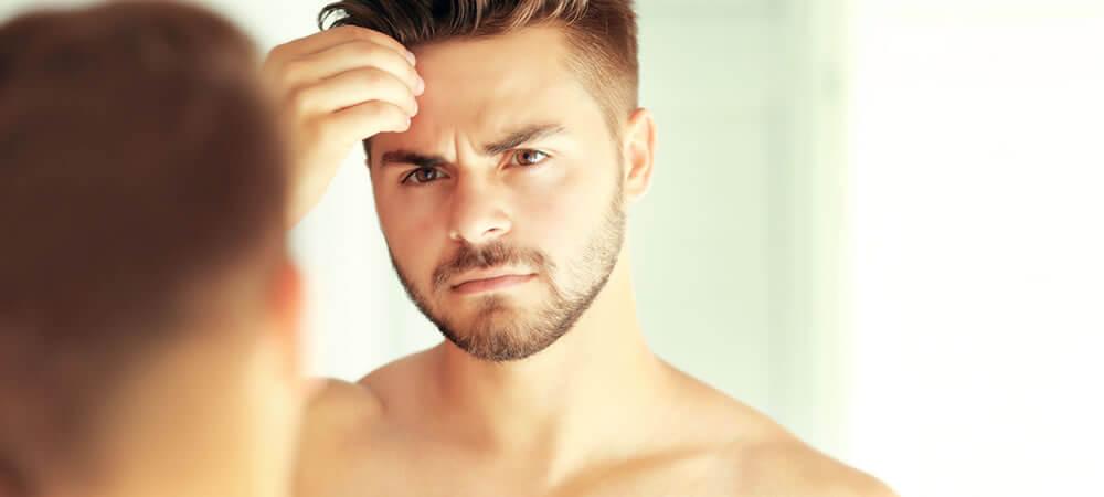 Masno lice kod muškarca