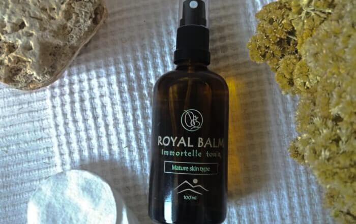 Prirodni tonik za zrelu kožu lica - Royal Balm