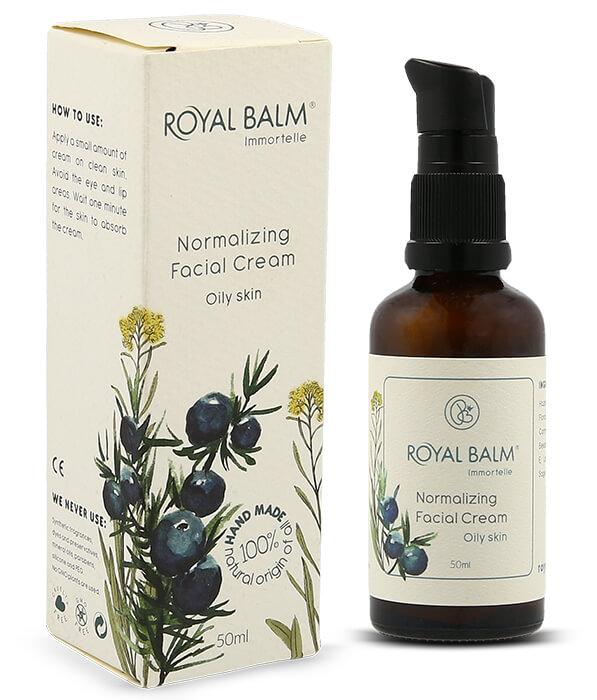 Prirodna krema za masnu kožu i bubuljice - Royal Balm