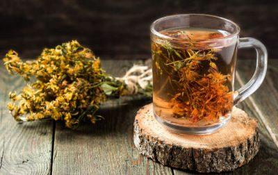 Osušen cvet katariona i čaj