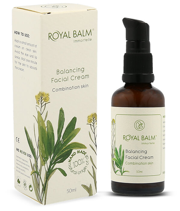 Prirodna krema za mešovitu kožu od 50ml - Royal Balm
