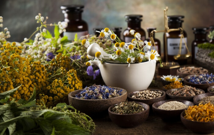 Organska kozmetika sa lekovitim biljem