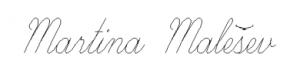 potpis Martina Malešev