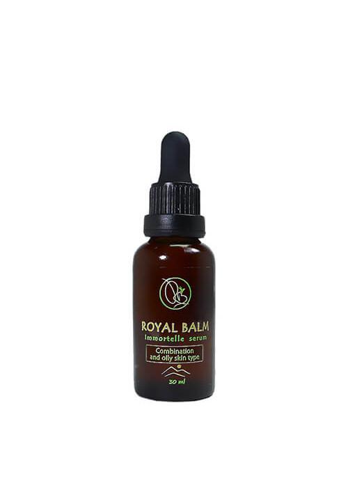 Prirodni serum za lice - za masnu i mešovitu kožu