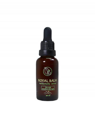 Prirodni serum za lice za suvu i osetljivu kozu
